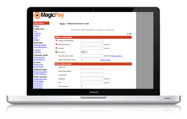 Multi Currency Credit Card Processing